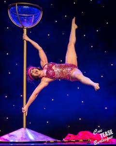 Cue Tease Burlesque performer: Velma von Bon Bon (Variety)