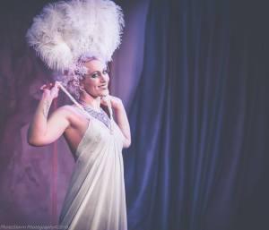 Cue Tease Burlesque performer: Lena Mae (Burlesque)